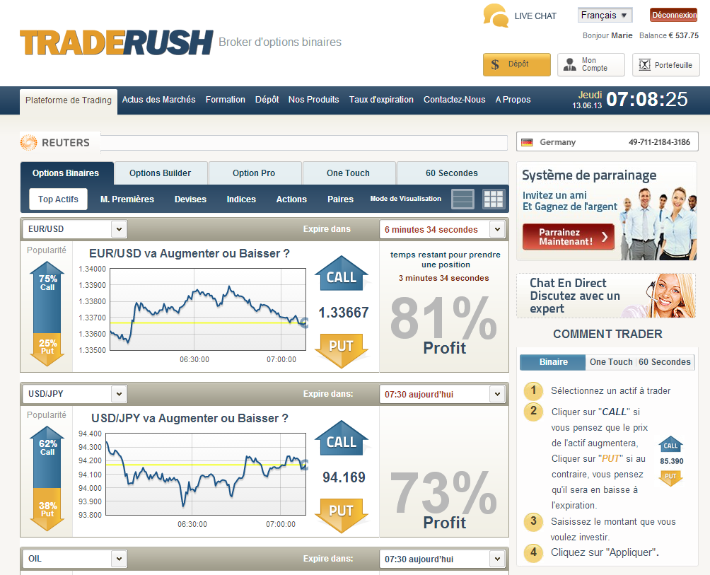 Binary option broker that accept paypal