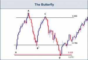 Butterfly Harmonic Pattern Live Example